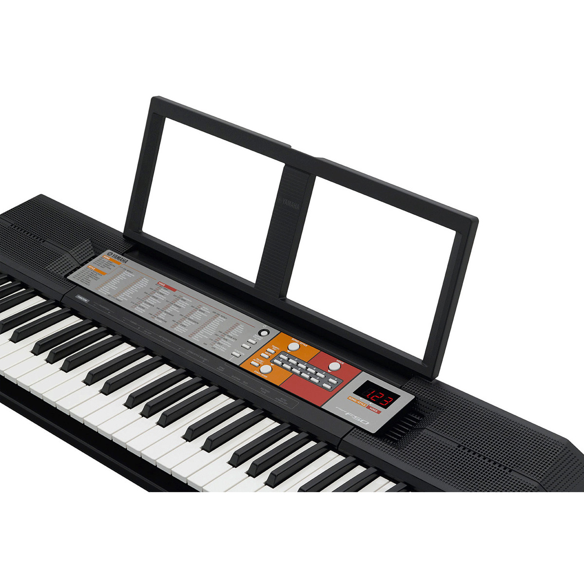 yamaha psr f50 portable keyboard b stock at. Black Bedroom Furniture Sets. Home Design Ideas