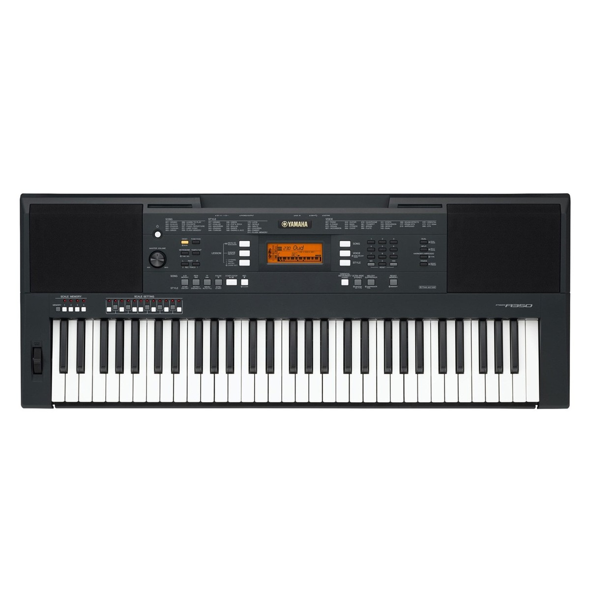 yamaha psr a350 oriental portable keyboard black at. Black Bedroom Furniture Sets. Home Design Ideas