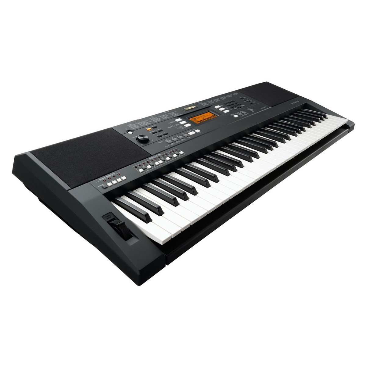 Yamaha psr a350 oriental portable keyboard black at for Yamaha piano keyboard models