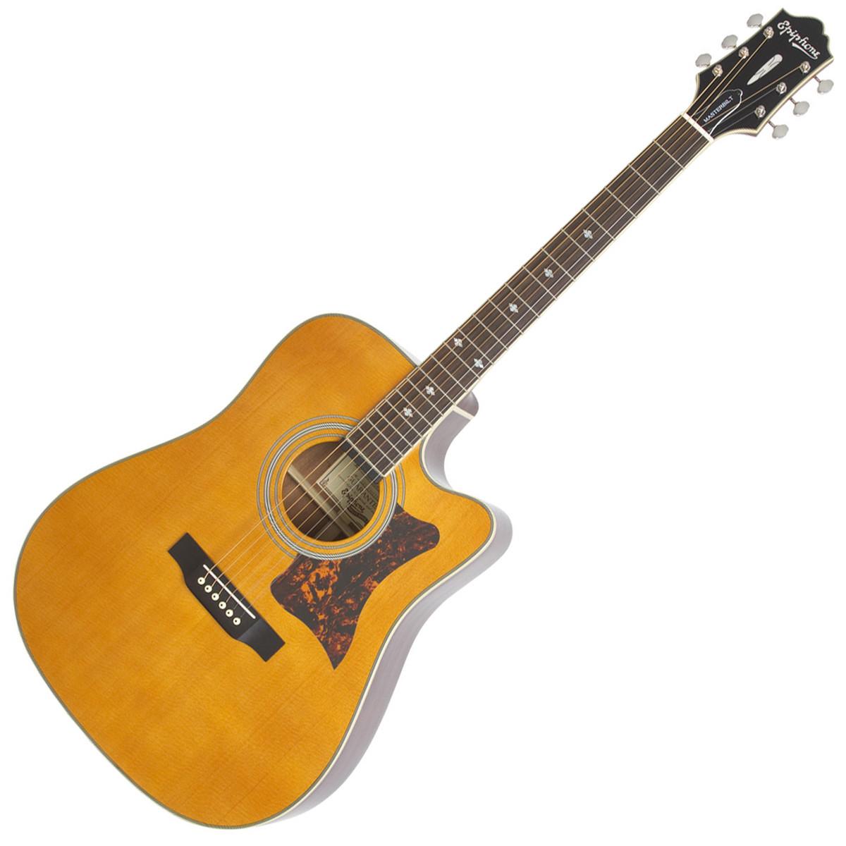 epiphone dr 500mce masterbilt electro acoustic guitar natural b stock at. Black Bedroom Furniture Sets. Home Design Ideas