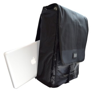 DJ Tech Tools Controller Backpack V2, Black - Side (Equipment Not Included)