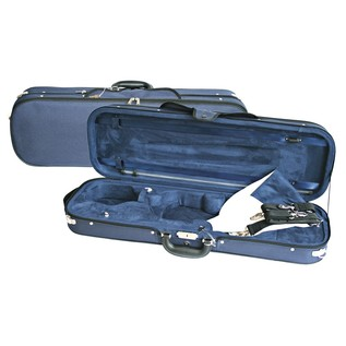 Young Oblong Violin Case in Blue and Blue, 4/4 Size