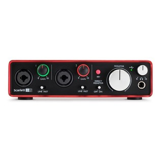 Focusrite Scarlett 2i2 (2nd Gen)