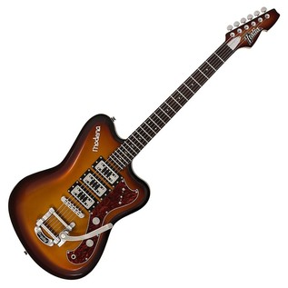 Italia Modena Challenge Electric Guitar, Metallic Gold Burst