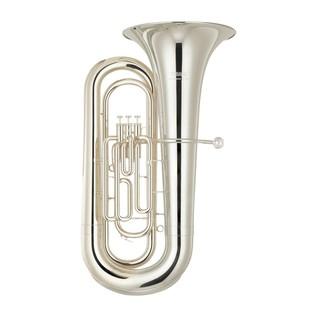 Yamaha YBB-201S Student Model Bb Tuba, Silver Plated