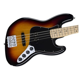 Fender Deluxe Active Jazz Bass Guitar, Sunburst