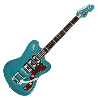 Italia Modena Challenge Electric Guitar, Metallic Turquoise