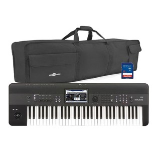 Korg KROME 61 Key Workstation with Bag and Additional Soundbanks