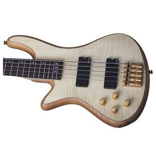 Schecter Stiletto Custom-5 Left Handed Bass Guitar