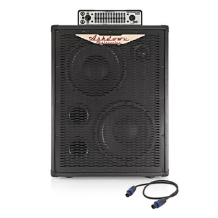 "Ashdown Retroglide-800 Head and 2 x 10"" ABM Cab"