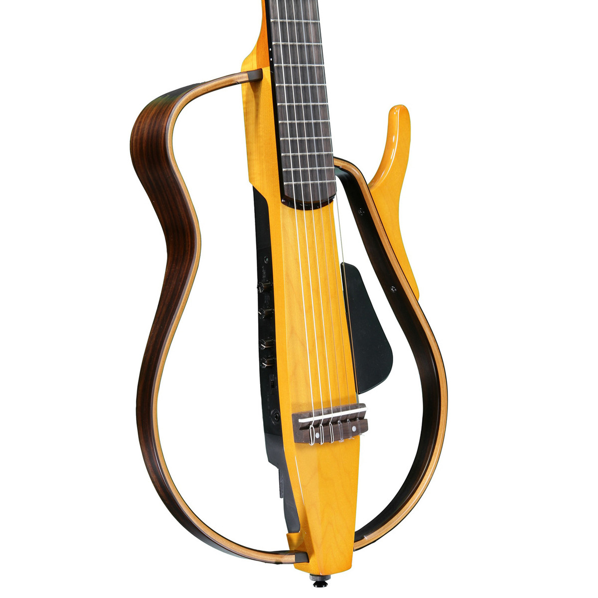 Yamaha slg130nw silent guitar light amber burst b stock for Yamaha silent guitar slg130nw
