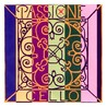 Pirastro Passione Cello D streng, tunge Gauge