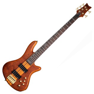 Schecter Stiletto Studio-5 Bass Guitar,Honey Satin