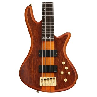Schecter Stiletto Studio-5 Bass Guitar,Honey