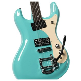 Danelectro 64 Electric Guitar, Dark Aqua