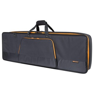 Roland CB-G49 49-Key Keyboard Bag with Shoulder Straps - Angled Closed
