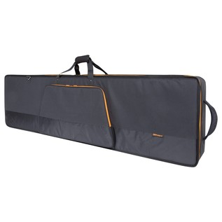 Roland CB-G88 88-Key Keyboard Bag with Wheels - Angled Closed