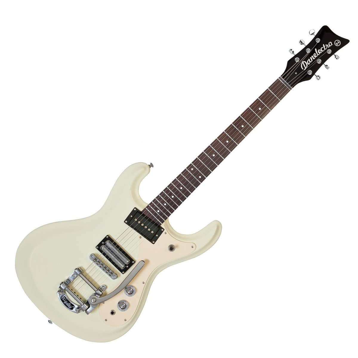 danelectro 64 electric guitar vintage white at. Black Bedroom Furniture Sets. Home Design Ideas