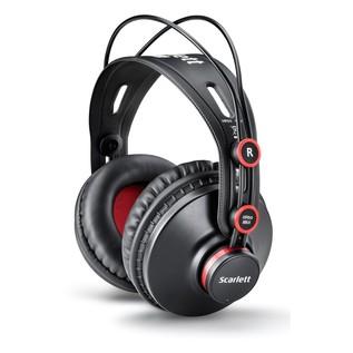 Focusrite Scarlett Solo Studio HP60 2nd Gen Studio Headphones