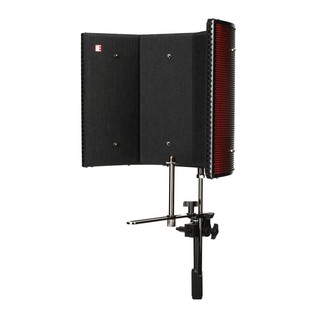 Focusrite Scarlett Studio with LTD sE Reflexion Filter Pro - Filter Angled