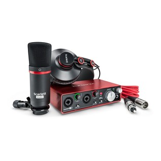 Focusrite Scarlett 2i2 Studio MKII with LTD sE Reflexion Filter Pro - Studio Bundle