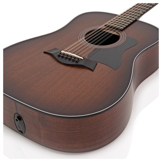 Taylor 360e Dreadnought 12-String Electro Acoustic Guitar, Mahogany