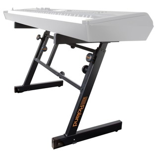 Roland KS-1Z Z-Style Keyboard Stand - Angled View 2 (Keyboard Not Included)