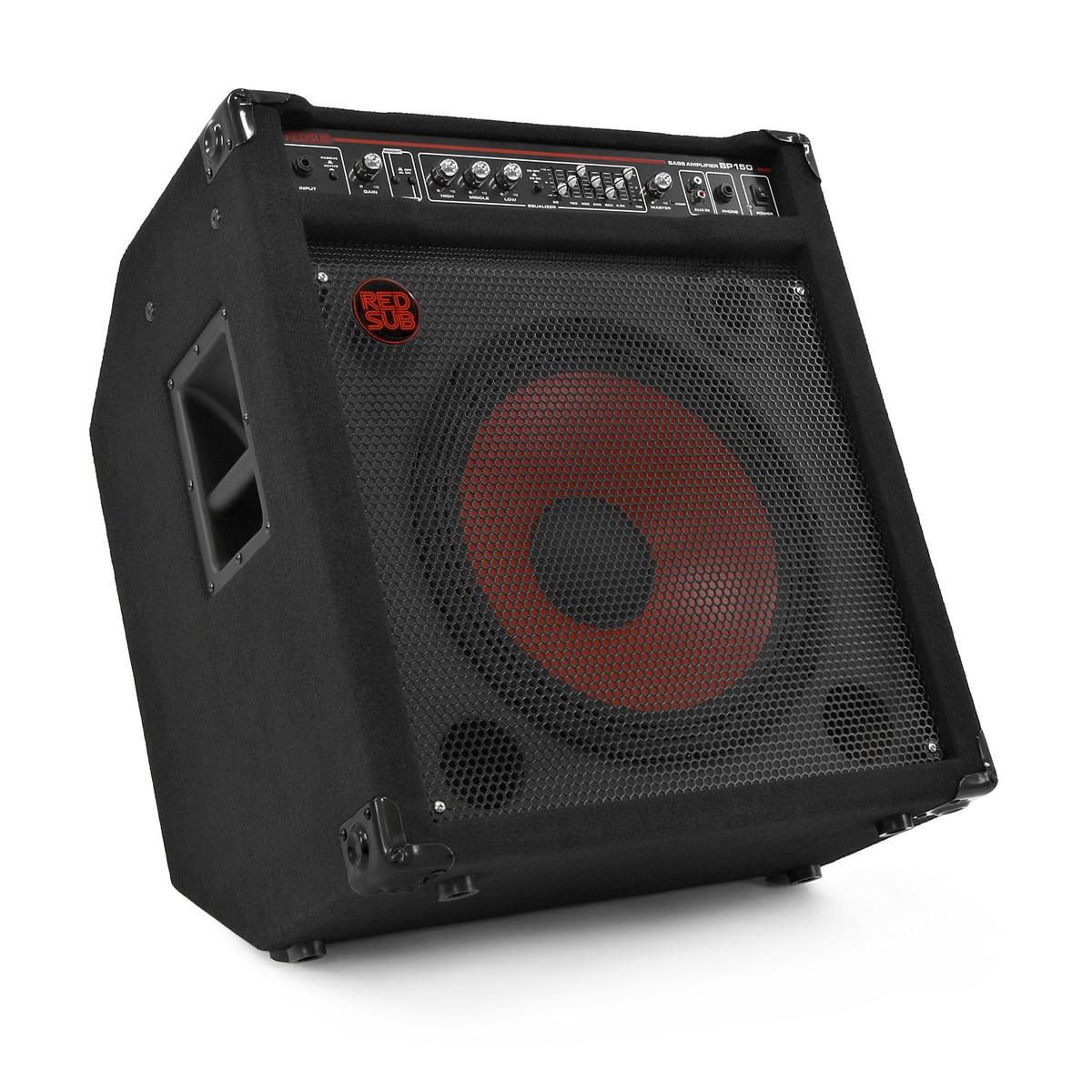 redsub bp150 150w bass guitar amplifier b stock at. Black Bedroom Furniture Sets. Home Design Ideas