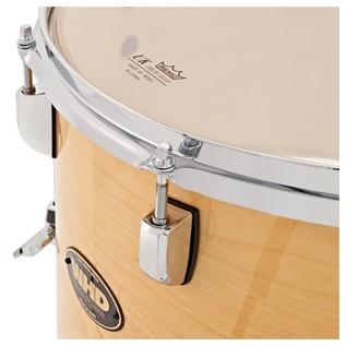 WHD Birch 4 Piece Jazz Complete Drum Kit, Natural