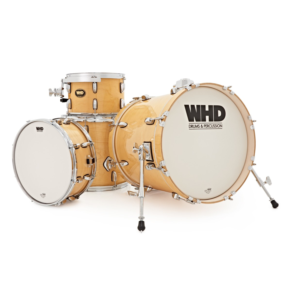 whd birch 4 piece jazz drum kit natural at. Black Bedroom Furniture Sets. Home Design Ideas