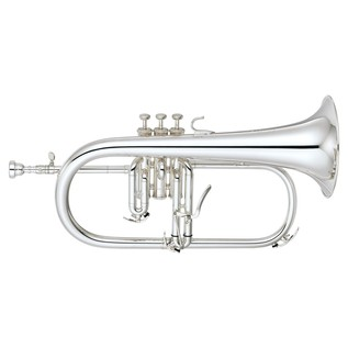 Yamaha YFH-8310Z Custom Model Bb Flugel Horn, Silver Plated