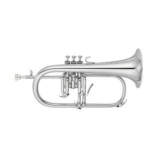 Yamaha YFH-8310ZGS Custom Model Bb Flugel Horn, Silver-Plated