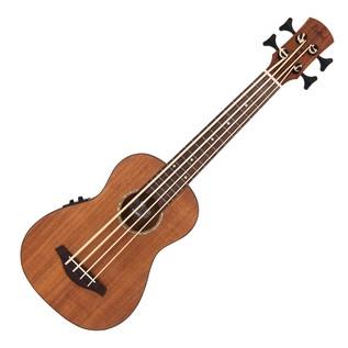 Laka VUB90EA Electro Acoustic Bass Ukulele, Acacia