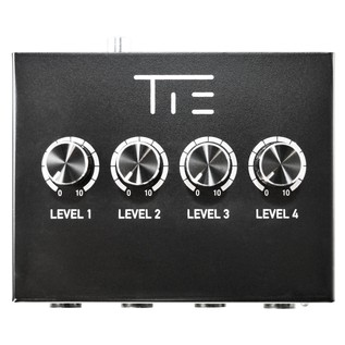 Tie Studio 4 Channel Headphone Amplifier - Top