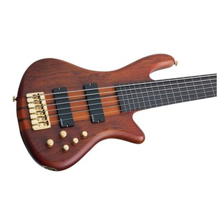 Schecter Stiletto Studio-6 FL Bass Guitar, Honey