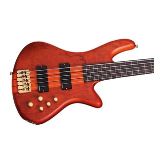 Schecter Stiletto Studio-5 FL Bass Guitar, Honey