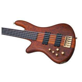 Schecter Stiletto Studio-5 Fretless Left Handed Basss Guitar