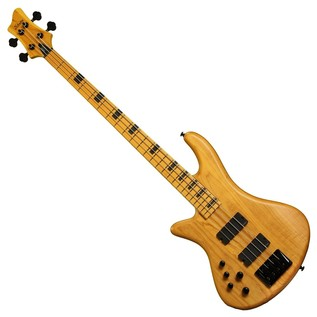 Schecter Stiletto Session-4 Left Handed Bass, Aged Natural Satin