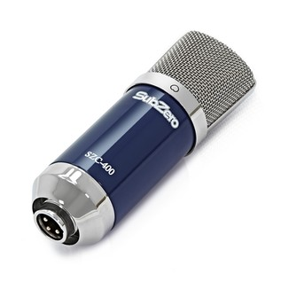 Zoom U-24 Recording Bundle - Microphone Flat