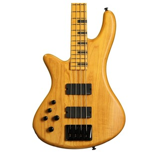 Schecter Stiletto Session-4 Left Handed Bass, Aged Natural