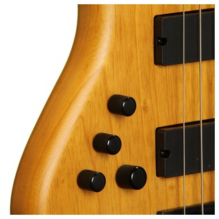 Schecter Stiletto Session-5 Left Handed Bass Natural