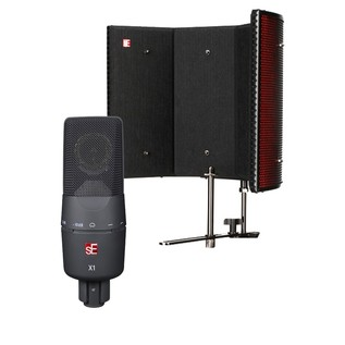 sE Electronics X1 Microphone with Reflexion Filter Pro Ltd