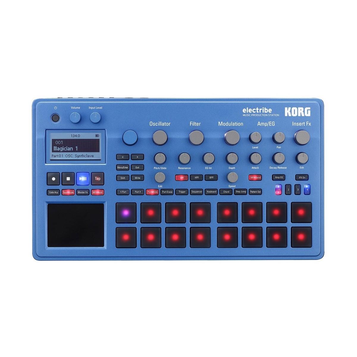 Image of Korg Electribe EMX2-BL Music Production Station