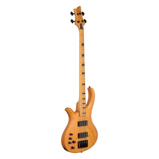 Schecter Riot Session-4 Left Handed Bass Guitar, Natural Satin