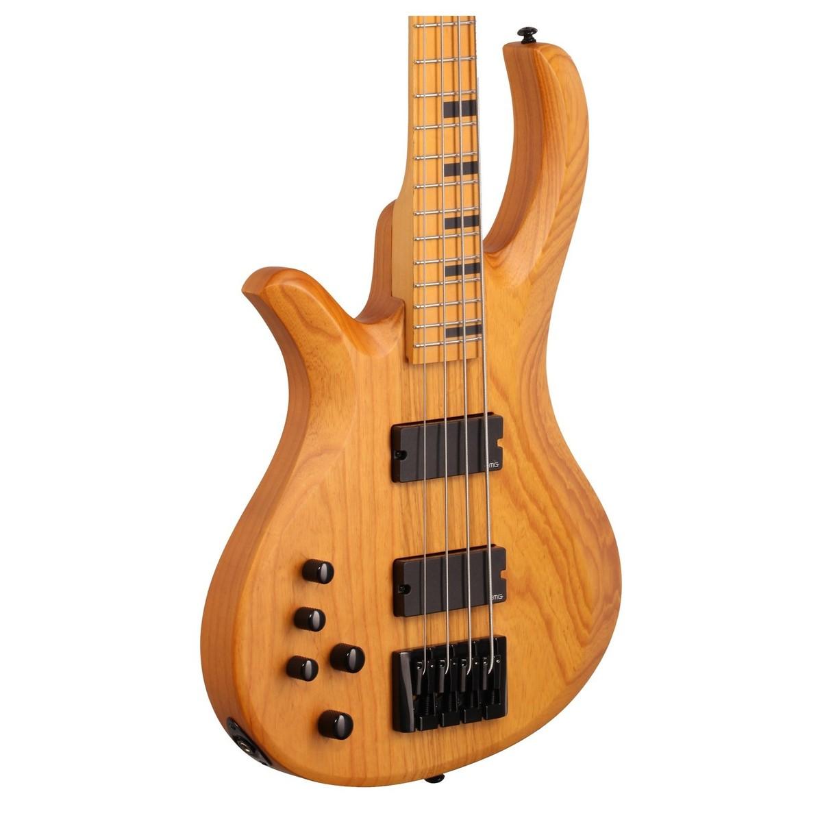 schecter riot session 4 left handed bass guitar aged natural satin at. Black Bedroom Furniture Sets. Home Design Ideas