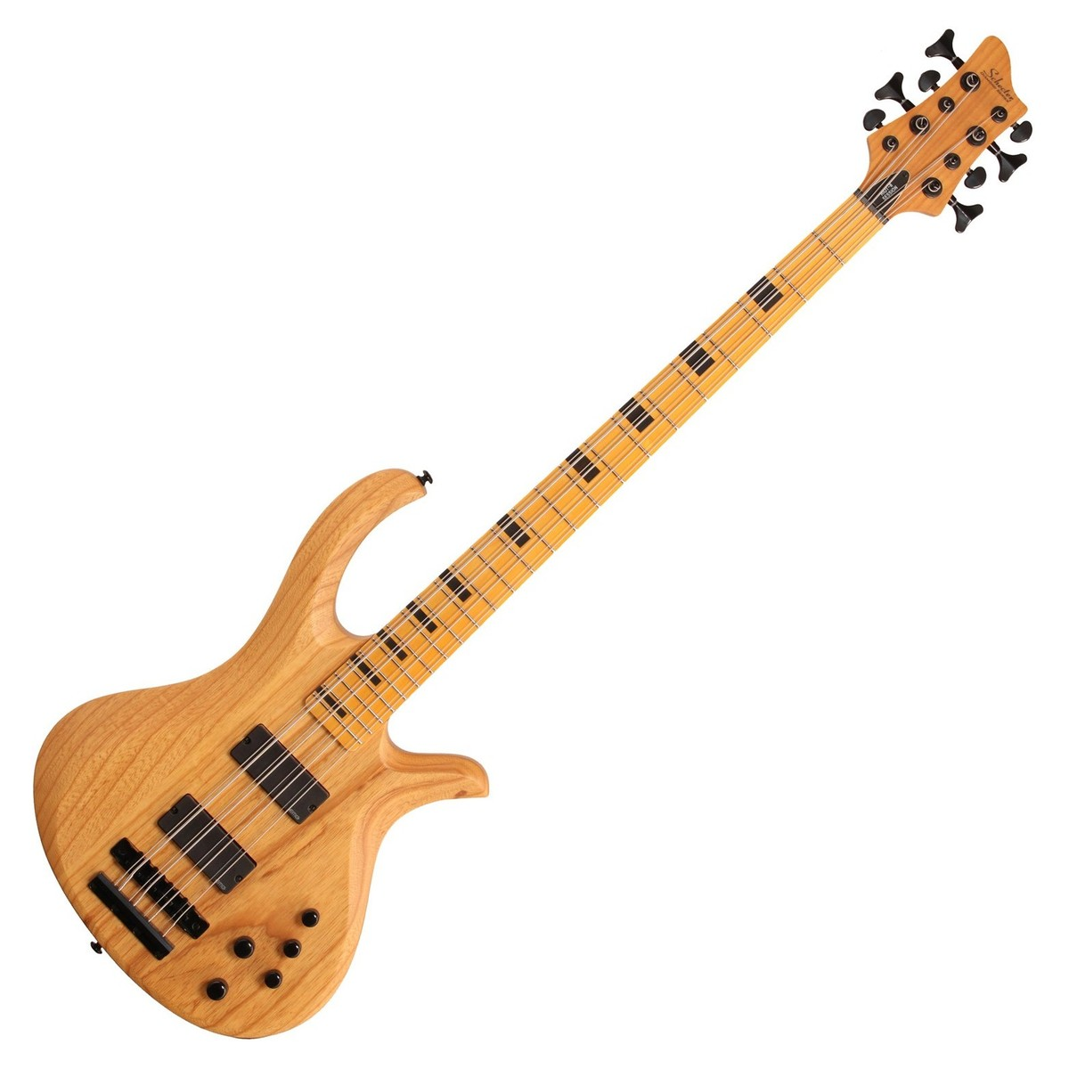 schecter riot session 8 electric bass guitar aged natural satin at. Black Bedroom Furniture Sets. Home Design Ideas