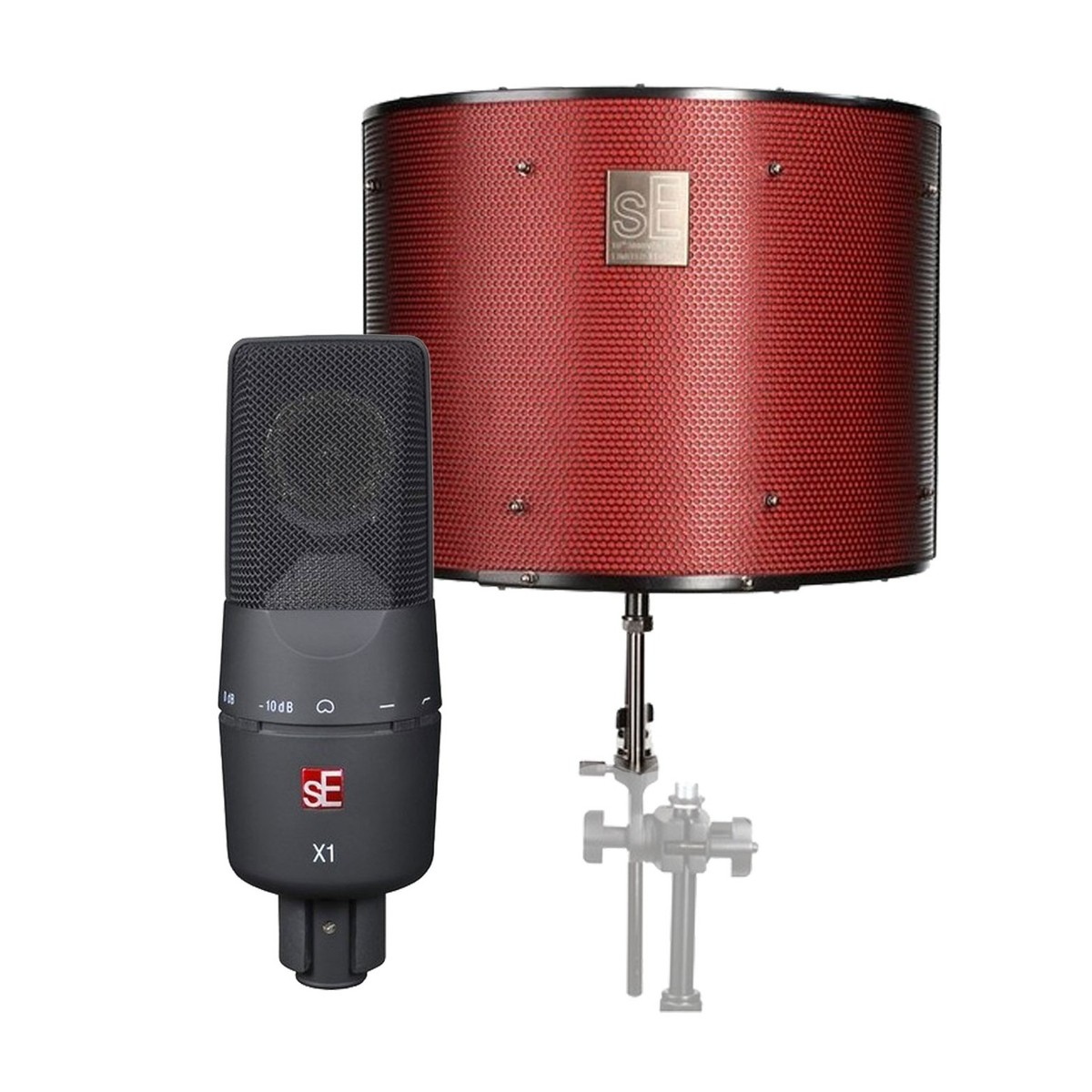 Image of sE Electronics X1 Microphone with Reflexion Filter Pro Ltd