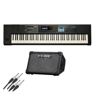 Roland Juno-DS88 and CUBE Street EX Battery Powered Bundle