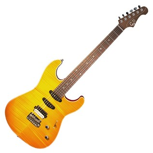 GJ2 By Grover Jackson Glendora NPG Electric Guitar, Lemon Burst