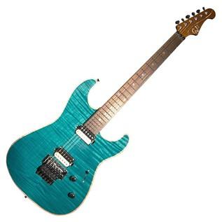 GJ2 By Grover Jackson Glendora NPG Electric Guitar, Trans Peacock